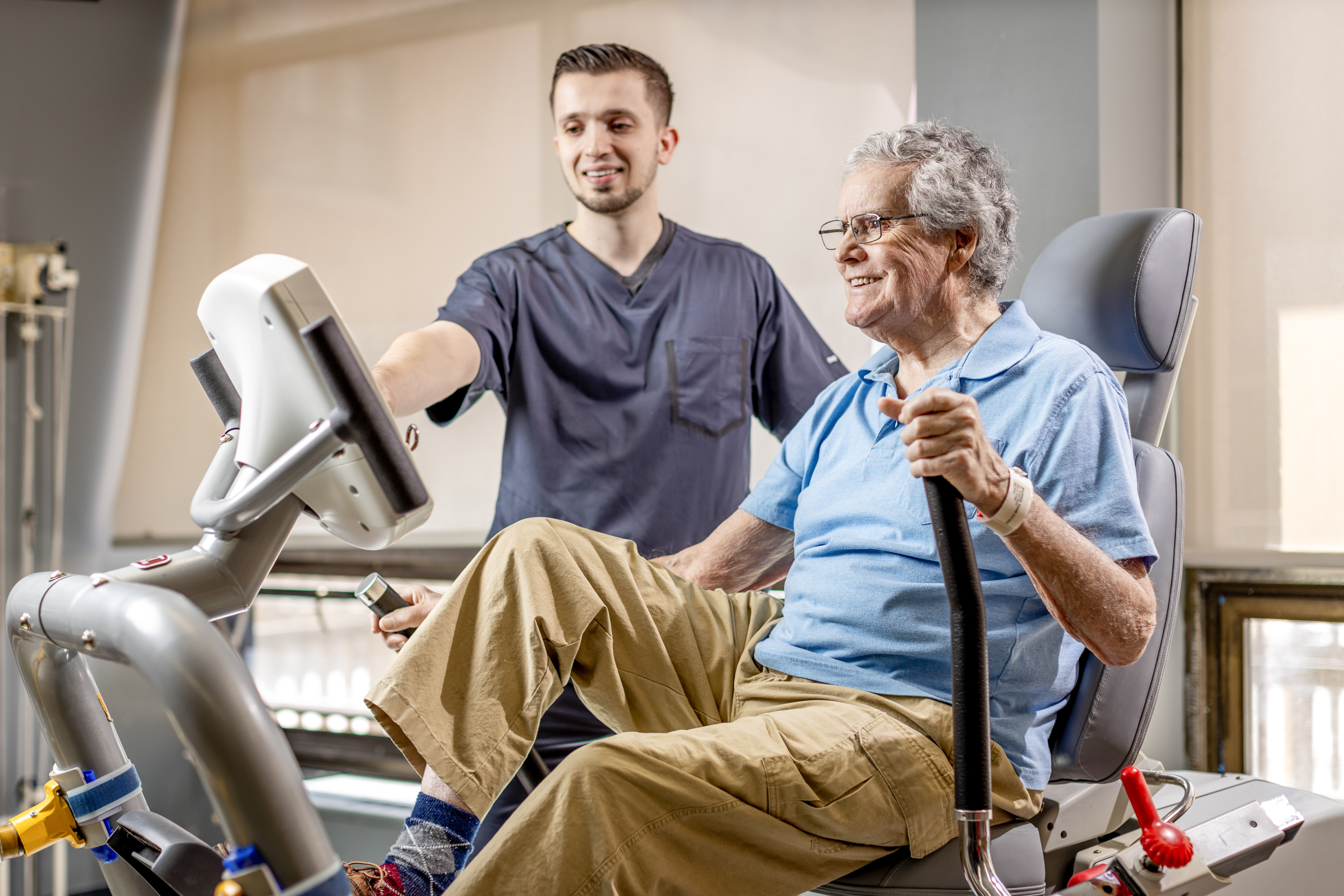 Luxor Nursing and Rehab at Mills Pond Urges You That it is Not Too Late to Start Exercising